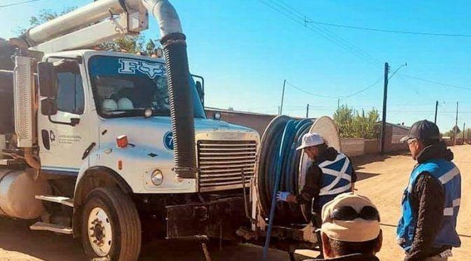Chihuahua: mejoran servicios de agua potable y drenaje en Lázaro Cárdenas (El Heraldo de Chihuahua)