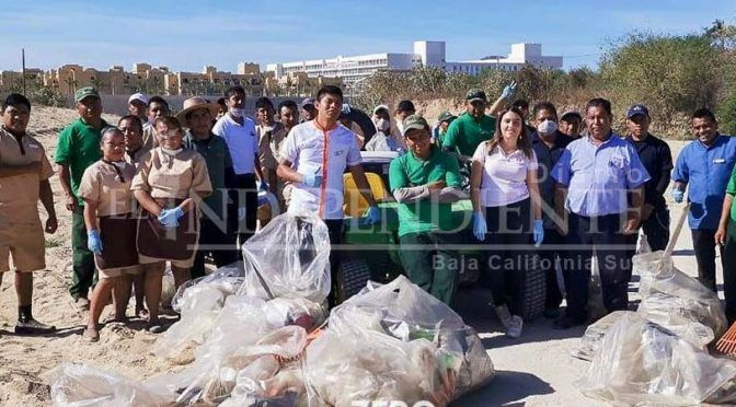 Baja California Sur: Asociaciones y hoteles recolectan casi una tonelada de basura al finalizar la Semana Santa (Diario El Independiente)