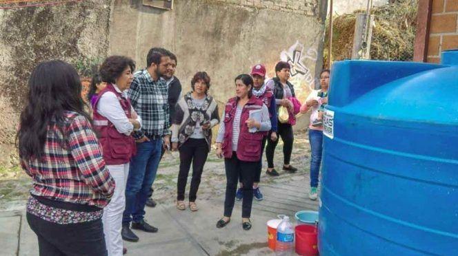 Plan contra estiaje en Tlalpan beneficia a más de 4 mil familias ( Excélsior)