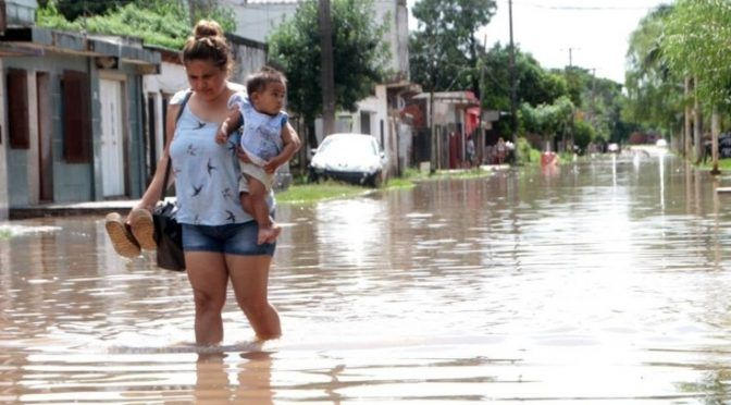 Vecinos del San Antonio Este y Oeste exigirán obras de desagües en la zona (Corrientes Hoy)