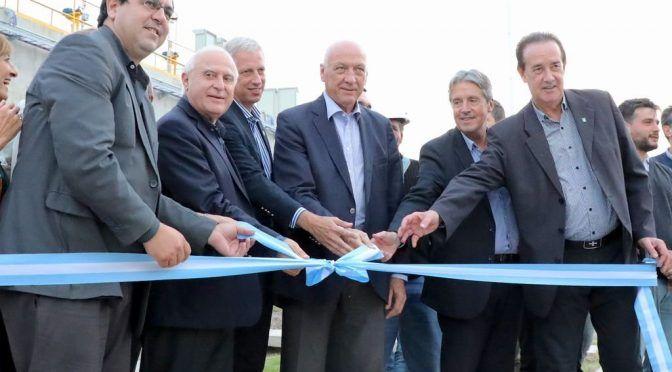 Se puso en marcha el acueducto Reconquista que beneficiará a 200.000 habitantes (Mirador Provincial)