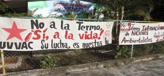 Morelos: Rechaza frente de pueblos termoeléctrica en Huexca (La jornada)