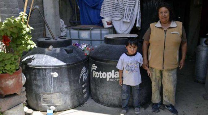 En Texcoco hacen obras de agua potable, caras y defectuosas (El Pulso del Estado de Mexico)