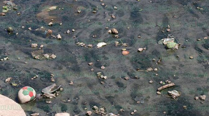 """Veracruz: """"El arroyito"""", en Las Vigas, 40 años contaminado (Diario de Xalapa)"""