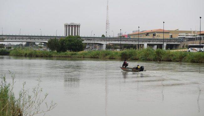 Alertan por creciente del río Bravo en Nuevo Laredo (vox populi noticias)