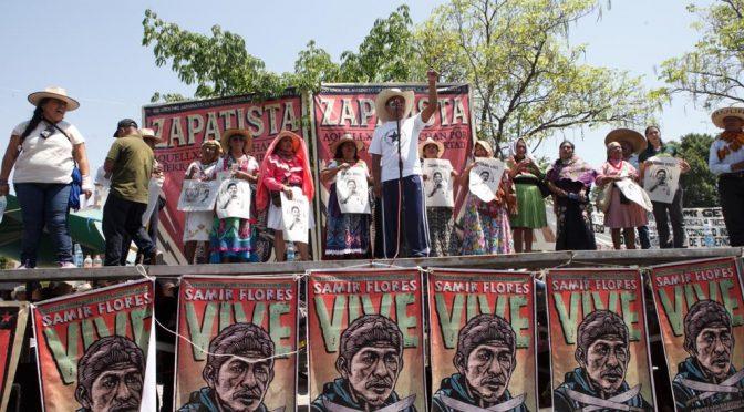 Morelos: Rechazo al Proyecto Morelos en acto campesino por Zapata (La Jornada)