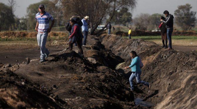 Hidalgo: Explosión en Tlahuelilpan dejó daños irreversibles en el agua y cosechas del lugar (Reporte Índigo)