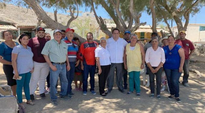 Baja California: reforzarán en Puerto Alcatraz mecanismos de acceso al agua (El Sudcaliforniano)