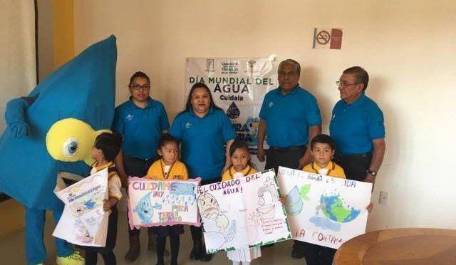 Tlaxcala: Reconocen dibujos de niñas y niños sobre cuidado del agua en Xicohtzinco (e-Consulta)