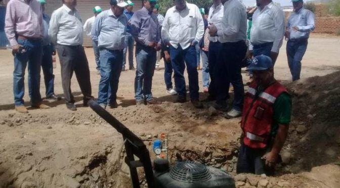 Zacatecas: Amplían red de agua potable en Río Grande (Trópico de cáncer)