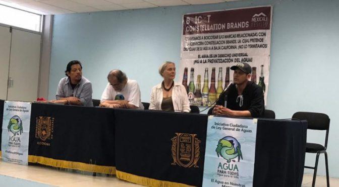 Chiapas: Ley ciudadana del agua buscará arrebatar la posesión del vital liquido a las empresas (Chiapas paralelo)