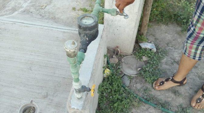 San Luis Potosí: Manifestación por falta de agua en Presidencia (Quadratín SLP)