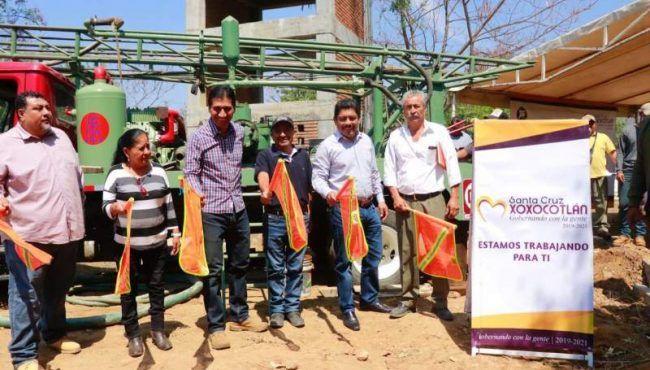 Oaxaca: Abastecerán de agua potable a 600 familias de Xoxocotlán (NSS Oaxaca)
