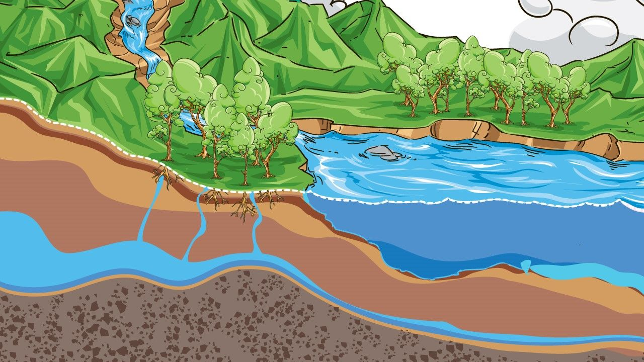 Los acuíferos (Infografía)