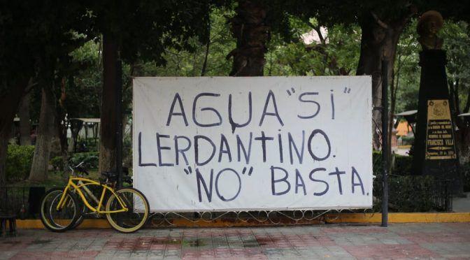 Durango: Agua sí, Lerdantino no (Milenio)