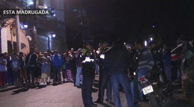 CDMX: Vecinos bloquean Calzada Desierto de los Leones por falta de agua (Televisa)