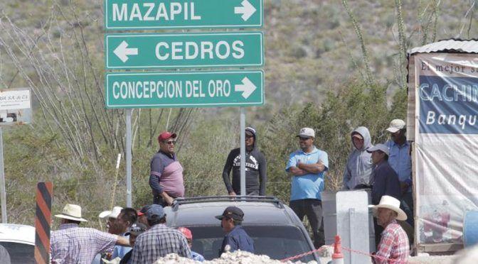 Zacatecas: Rechaza comisariado de Cedros actividades para rehabilitar manantial (Zacatecasonline)