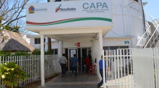 Dejan a CAPA sin recursos para desarrollar obra (La Verdad)