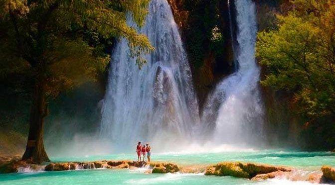 San Luis Potosí: Cerrarán hoy cascadas de Minas Viejas de El Naranjo (Pulso)