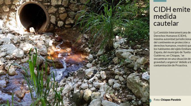 Chiapas: Habitantes de Yajalón, denuncian que un relleno sanitario clandestino contamina su agua (sinembargo.mx)