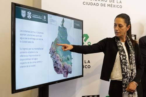 CDMX: Estiaje y altos consumos pegan en el suministro de agua a la zona oriente (La jornada)
