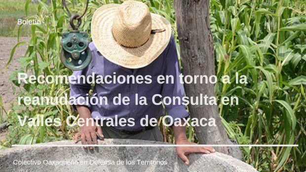 Oaxaca: Preocupa posible cierre de consulta indígena sobre agua en Valles Centrales (desinformemonos)