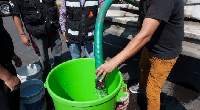 CDMX: Desabasto de agua genera confrontación en Xochimilco (La jornada)