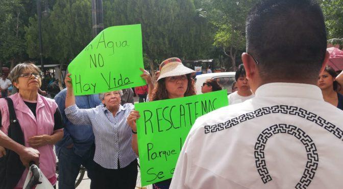 Durango: Otra vez, se manifiestan por falta de agua en Lerdo (Milenio)