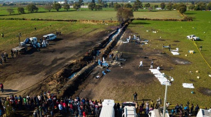 Hidalgo: Explosión en Tlahuelilpan dañó cultivos y contaminó agua (Milenio)