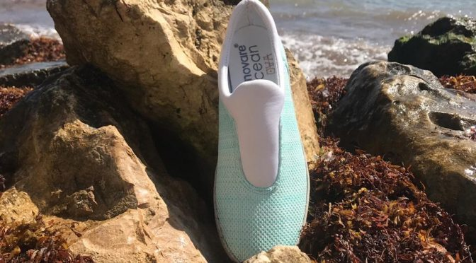 Produce marca mexicana zapatos con Sargazo y Pet (Milenio)