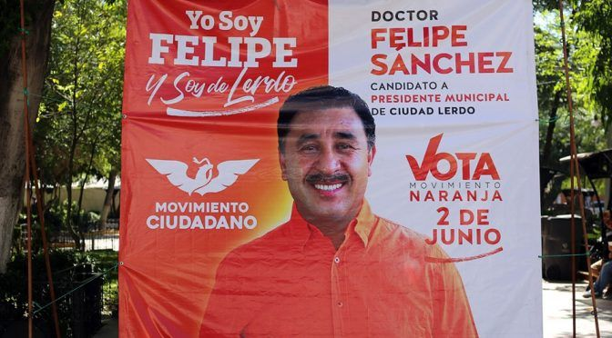 Durango: agua para Lerdo el principal proyecto de Felipe Sánchez (Milenio)