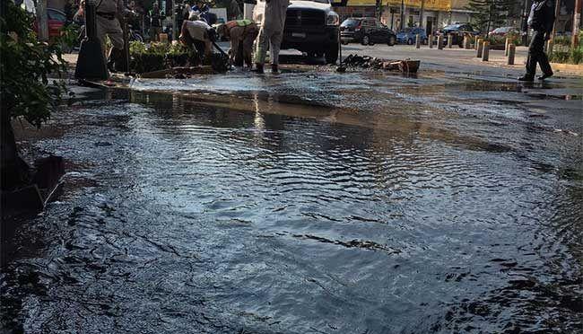 CDMX: Se registra fuga de agua en la Colonia Napoles (televisa.news)