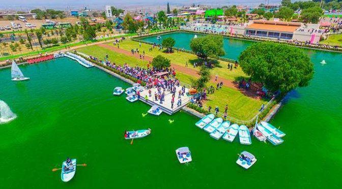 Estado de México: Inaugura Chimalhuacán lago artificial de 55 mdp (Pulso)