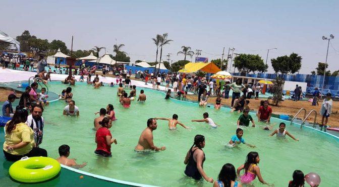 CDMX: ¡Al agua pato! Reabren parque acuático en Iztapalapa (Milenio)