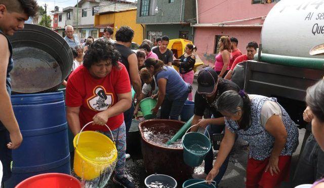 CDMX: Condicionan entrega de pipas de agua (Diario basta!)