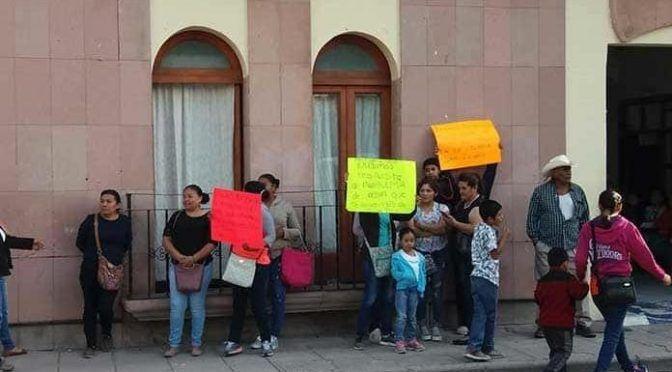 San Luis Potosí: protestan en Alcaldía por falta de agua (Pulso)