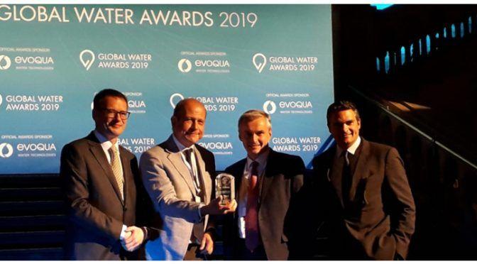 Inglaterra: Suez, elegida compañía del agua del año en los Global Water Summit (tecnoaqua)