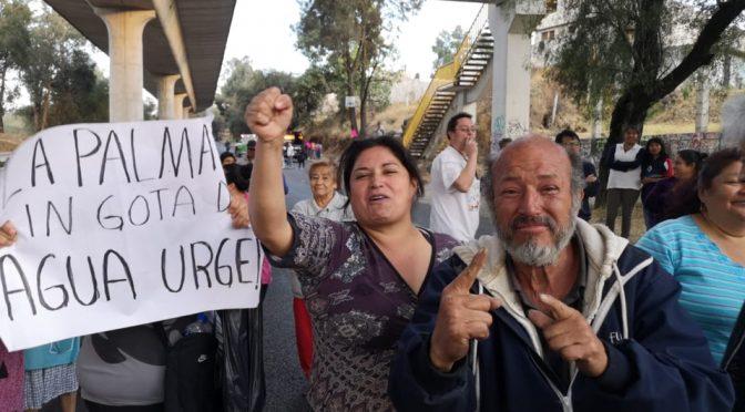 CDMX: caos en la México-Cuernavaca por protesta de manifestantes (Milenio)