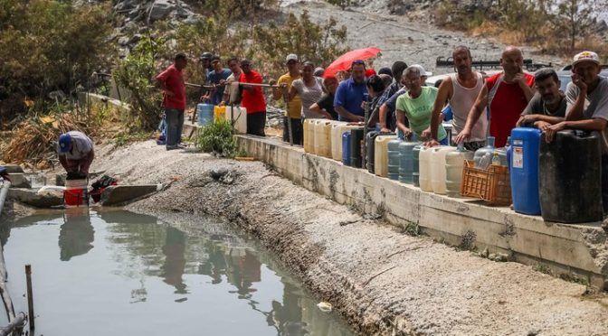 Venezuela: la vida sin agua pone al país al borde de epidemias de cólera, diarreas y fiebre tifoidea (Clarín mundo)