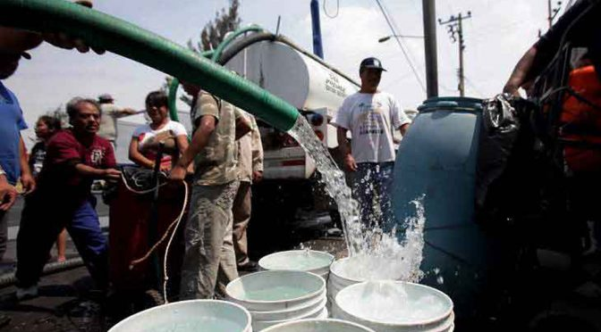 Jalisco: 957 colonias del área metropolitana de GDL se quedarán sin agua (Milenio)