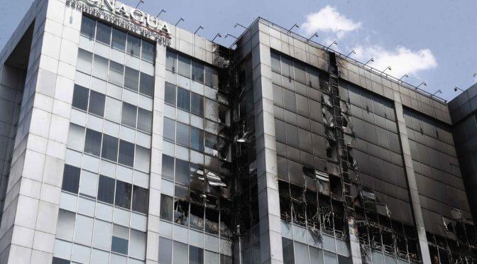 CDMX: Pierde Conagua auditorías tras incendio (El Siglo de Torreón)