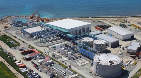 Perú: 70% de avance en planta desalinizadora (CLA)