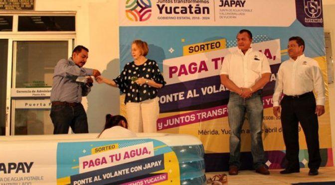 Yucatán: Usuarios de JAPAY ganan autos por pagar a tiempo su agua potable (La revista peninsular)