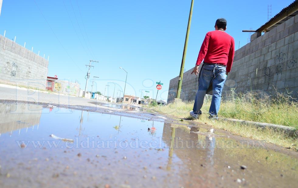 Chihuahua: se roban el agua… para desperdiciarla (El Diario de Chihuahua)