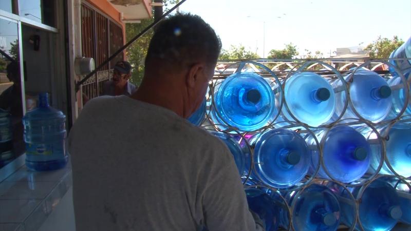 Sinaloa: Hasta purificadoras de agua potable se quedan sin el vital líquido (TV Pacífico)