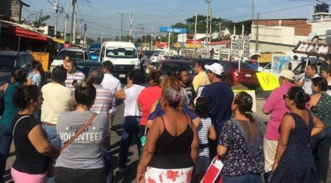 Tabasco: Estallan en Centro protestas por el agua (Tabasco hoy)