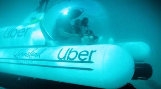 Australia: ScUber, el nuevo servicio de Uber que brinda viajes submarinos (El Comercio)