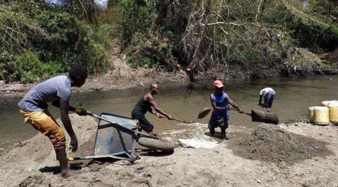 Los ríos de Kenia se quedan sin arena (Pulso)