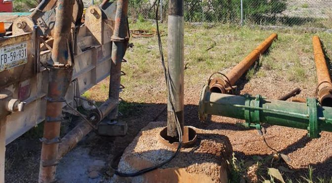 Coahuila: rehabilitan y desazolvan Pozo uno de agua potable (La Prensa de Monclova)
