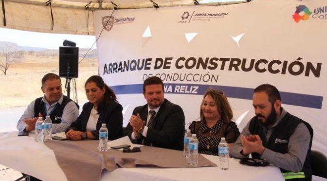 Chihuahua: Invierte JMAS 7.5 mdp en red de agua potable para El Reliz (noticias locales)